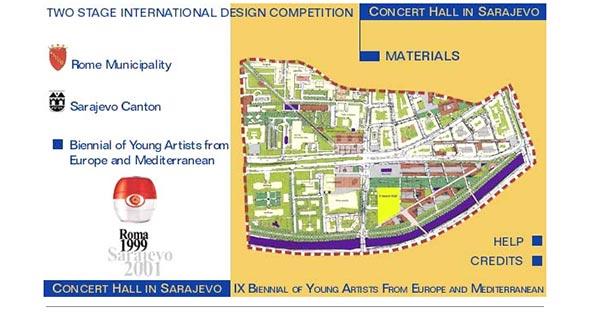 Comune di Roma - Concorso Concert Hall Sarajevo